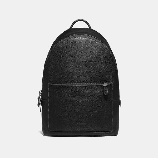 Metropolitan Soft Backpack, QB/BLACK, hi-res