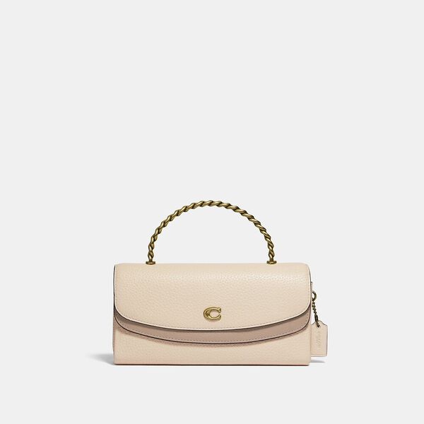 Blair Clutch In Colorblock, B4/IVORY TAUPE MULTI, hi-res