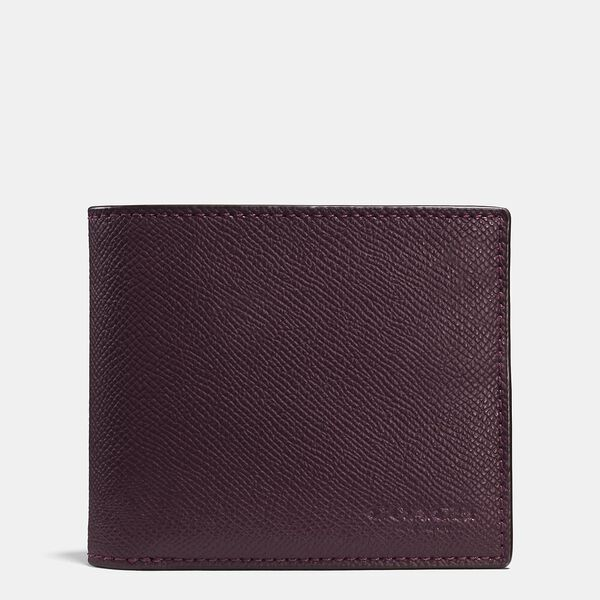 3-In-1 Wallet, OXBLOOD, hi-res