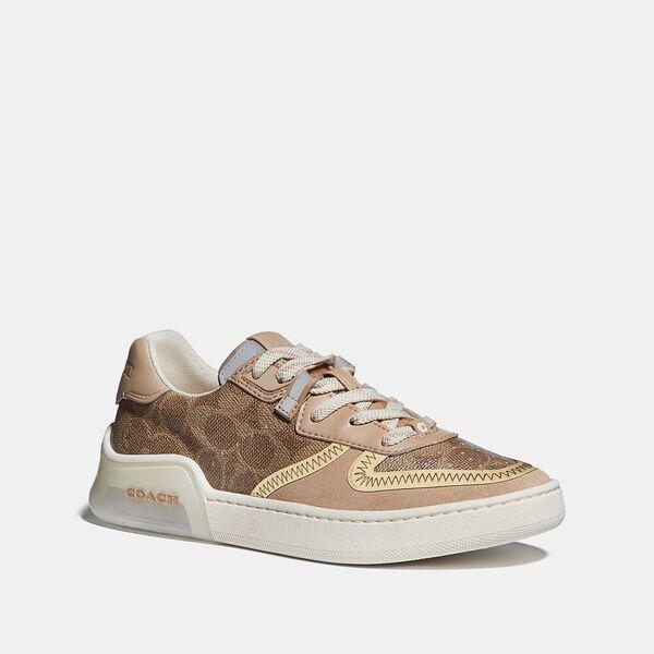 Citysole Court Sneaker, TAN/BEECHWOOD, hi-res