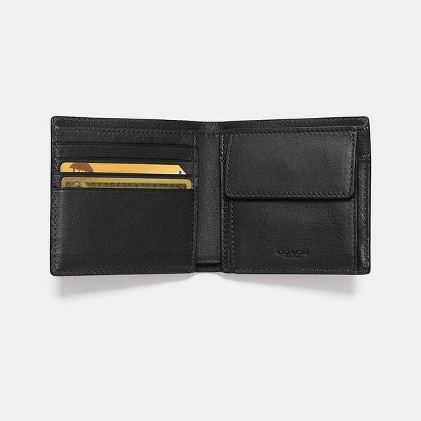 Coin Wallet, BLACK, hi-res