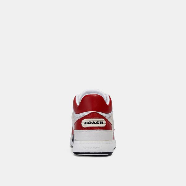 Citysole Mid Top Sneaker, CHALK ELECTRIC RED, hi-res