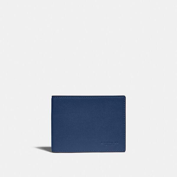 Slim Billfold Wallet In Colorblock