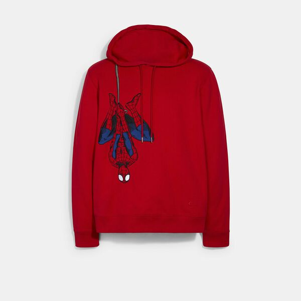 Coach x Marvel Spider-Man Hoodie, BARBADOS CHERRY, hi-res