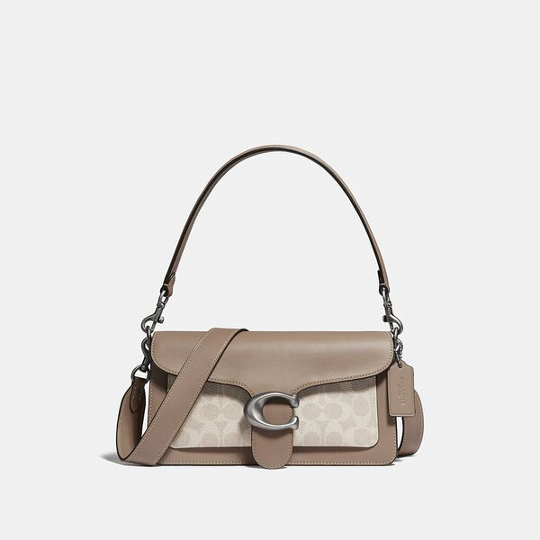 Tabby Shoulder Bag 26 With Signature Canvas