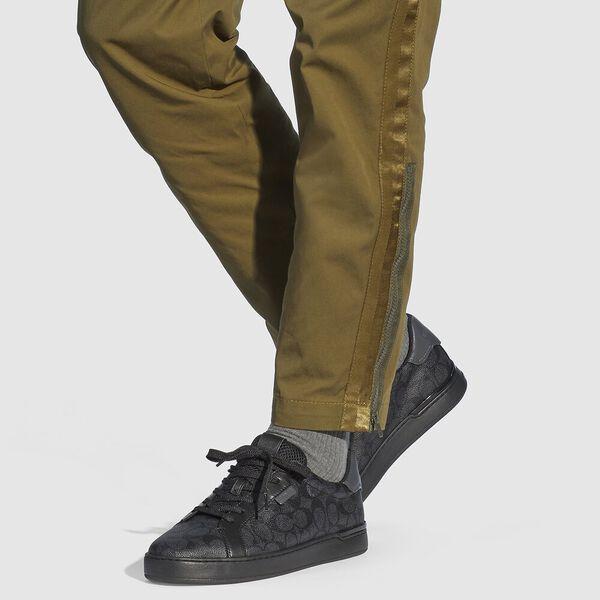 Lowline Low Top Sneaker, CHARCOAL/GREY, hi-res