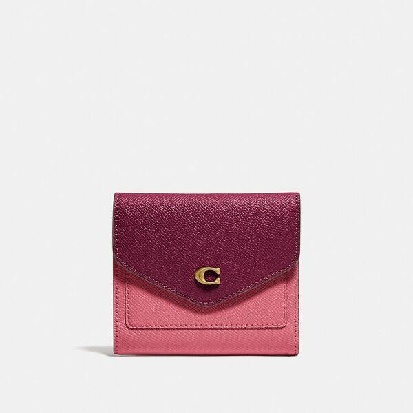 Wyn Small Wallet In Colorblock, B4/ROUGE MULTI, hi-res