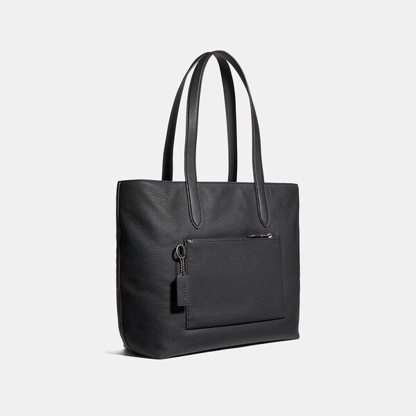 Metropolitan Soft Tote, QB/BLACK, hi-res