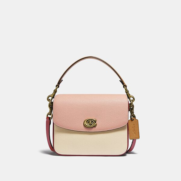 Cassie Crossbody 19 In Colorblock, B4/IVORY BLUSH MULTI, hi-res