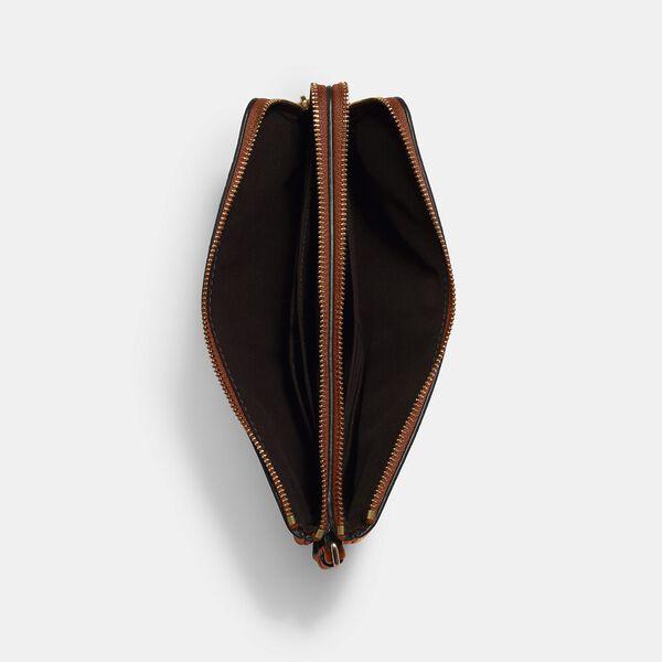 Double Zip Wallet, IM/REDWOOD, hi-res