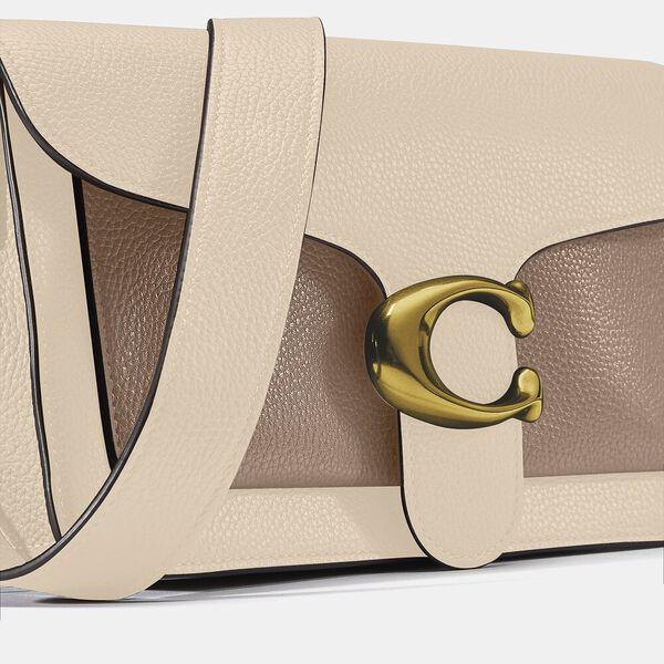 Tabby Shoulder Bag 26 In Colorblock, B4/IVORY TAUPE MULTI, hi-res