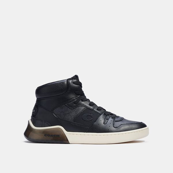 Citysole High Top Sneaker, CHARCOAL BLACK, hi-res