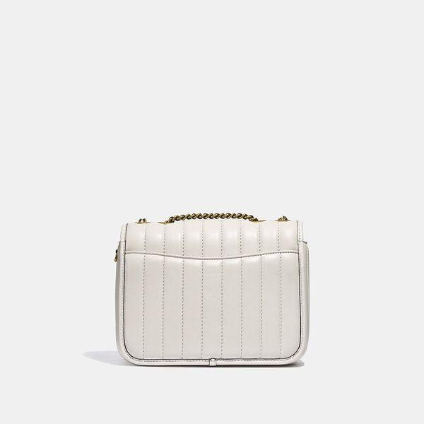 Madison Shoulder Bag With Quilting, B4/CHALK, hi-res