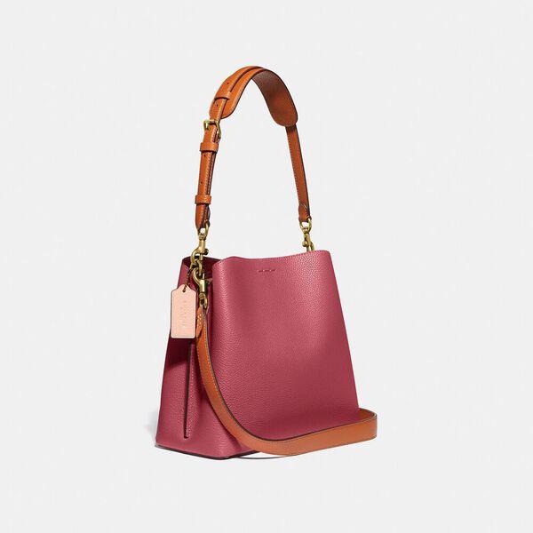 Willow Bucket Bag In Colorblock, B4/ROUGE MULTI, hi-res
