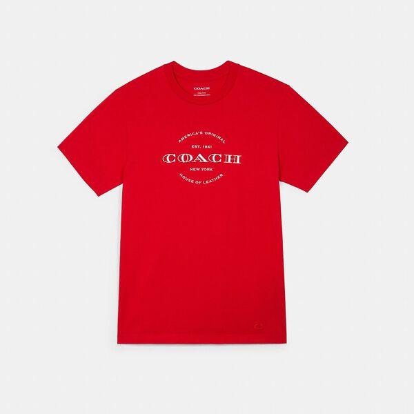 Hudson Logo Graphic T-Shirt, CARDINAL RED, hi-res