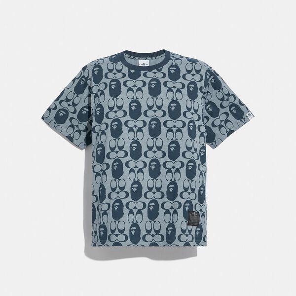 BAPE x Coach Graphic T-Shirt, CHAMBRAY, hi-res