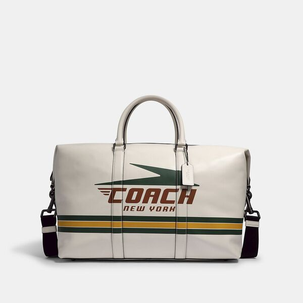 Trekker Bag With Vintage Coach Motif
