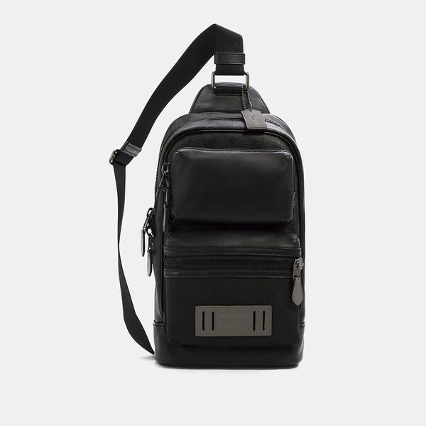 Rider Pack In Signature Canvas, QB/BLACK GREY MULTI, hi-res