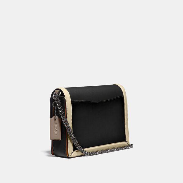 Hutton Shoulder Bag In Colorblock, V5/BLACK MULTI, hi-res