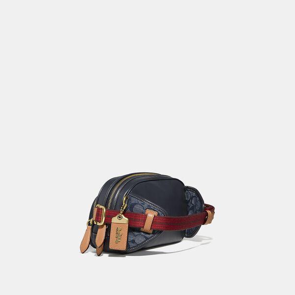 Belt Bag In Signature Chambray, OL/CHAMBRAY, hi-res