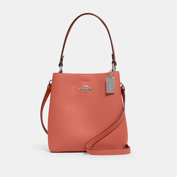 Small Town Bucket Bag, SV/TANGERINE TAUPE, hi-res
