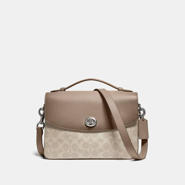 Cassie Crossbody In Signature Canvas