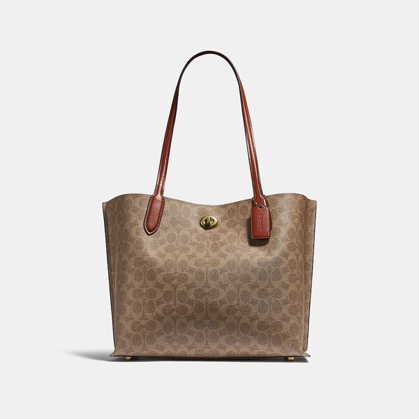 Willow Tote In Signature Canvas