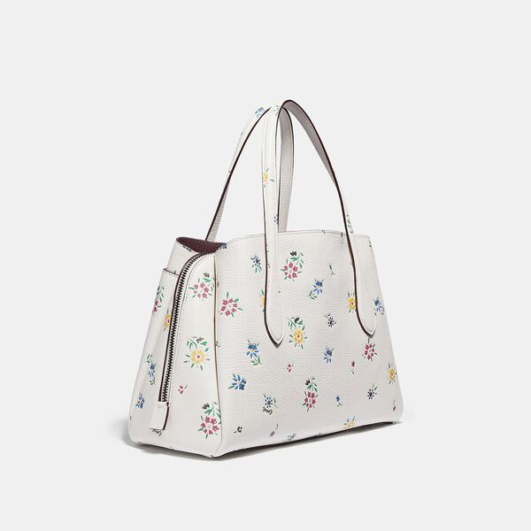 Lora Carryall 30 With Wildflower Print, V5/CHALK, hi-res
