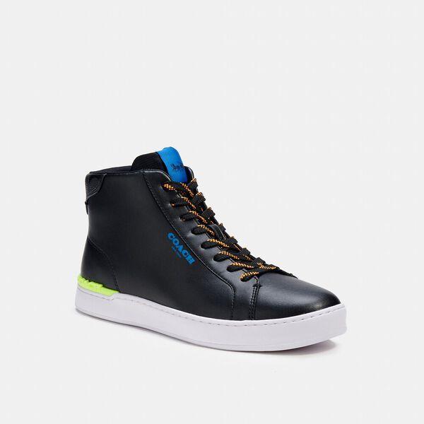 Clip High Top Sneaker, BLACK / CHARCOAL, hi-res