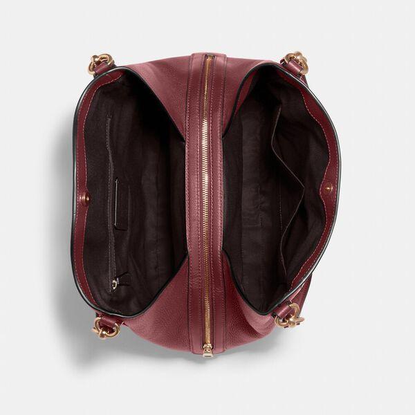 Hallie Shoulder Bag, IM/VINTAGE MAUVE, hi-res