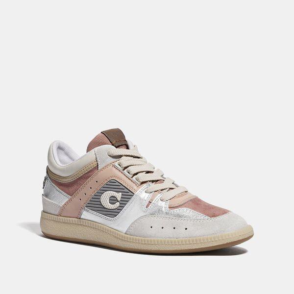 Citysole Mid Top Sneaker, SILVER/PALE BLUSH, hi-res