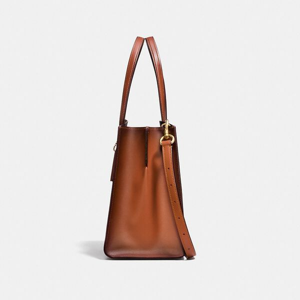 Charlie Carryall In Signature Canvas, B4/RUST, hi-res