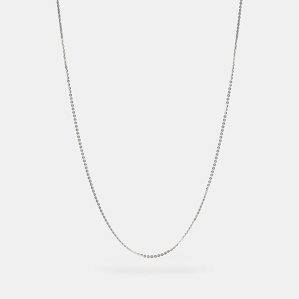 Collectible Chain Necklace, SILVER, hi-res