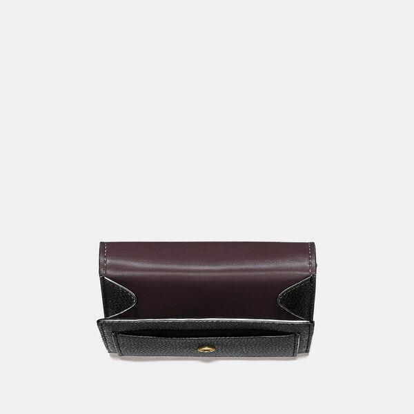Tabby Small Wallet, B4/BLACK, hi-res