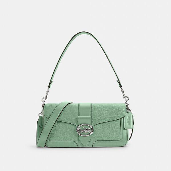 Georgie Shoulder Bag, SV/WASHED GREEN, hi-res