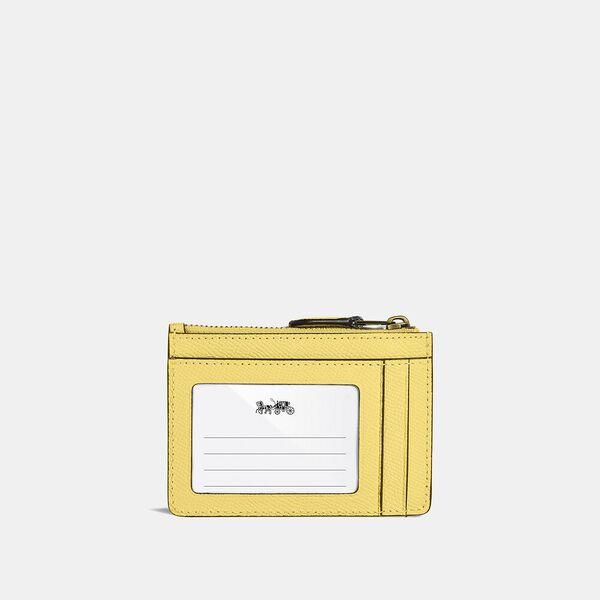 Mini Skinny Id Case, B4/RETRO YELLOW, hi-res