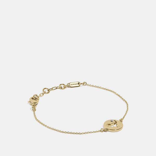 Rexy Cutout Bracelet, GOLD, hi-res