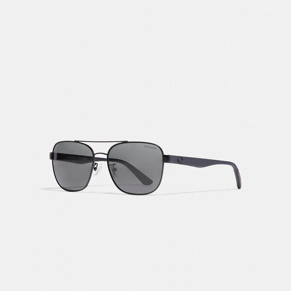 Modern Sport Navigator Sunglasses, SATIN BLACK, hi-res