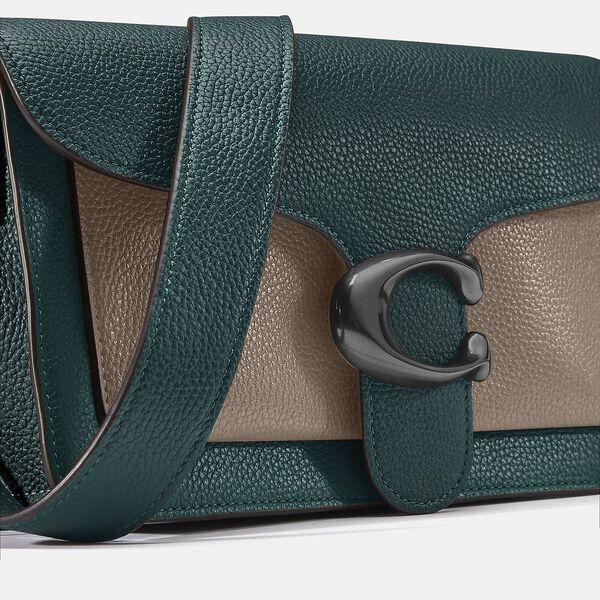 Tabby Shoulder Bag 26 In Colorblock, V5/FOREST MULTI, hi-res