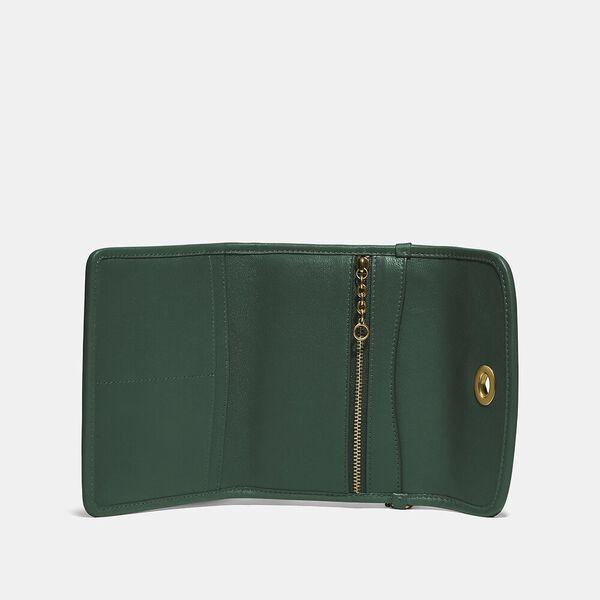 Turnlock Flap Wallet, B4/EVERGLADE, hi-res