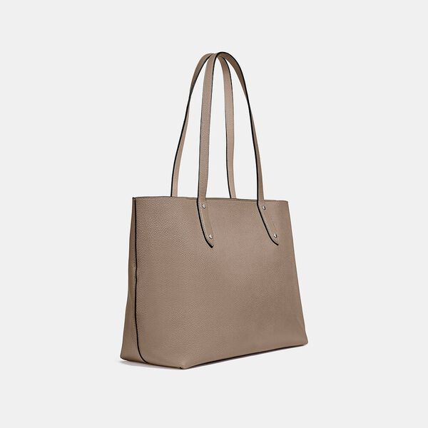 Central Tote With Zip, LH/TAUPE, hi-res