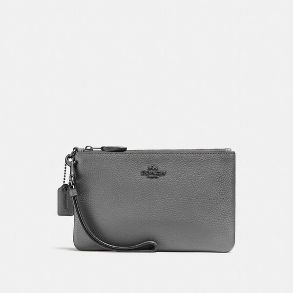 Small Wristlet, DK/HEATHER GREY, hi-res
