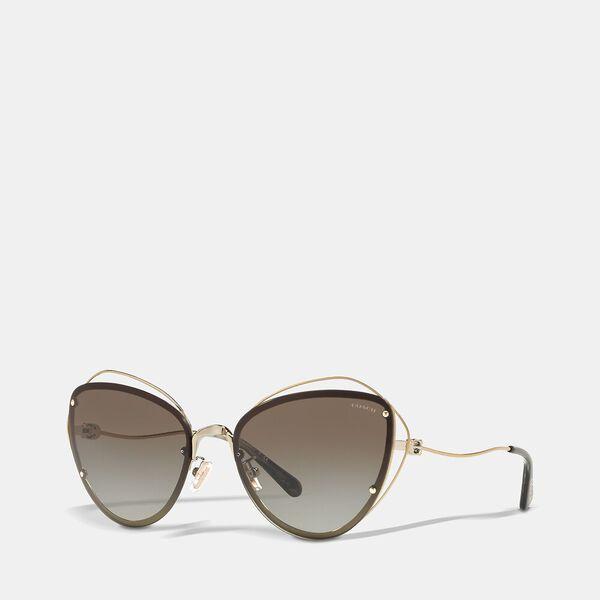 Open Wire Cat Eye Sunglasses