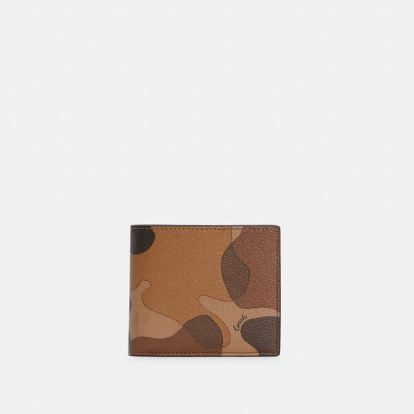 Coin Wallet With Camo Print