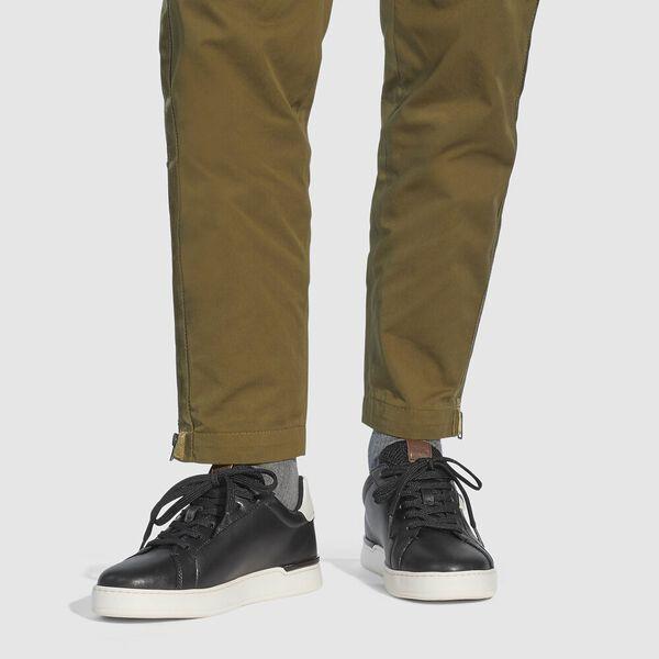 Lowline Low Top Sneaker, BLACK/CHALK, hi-res