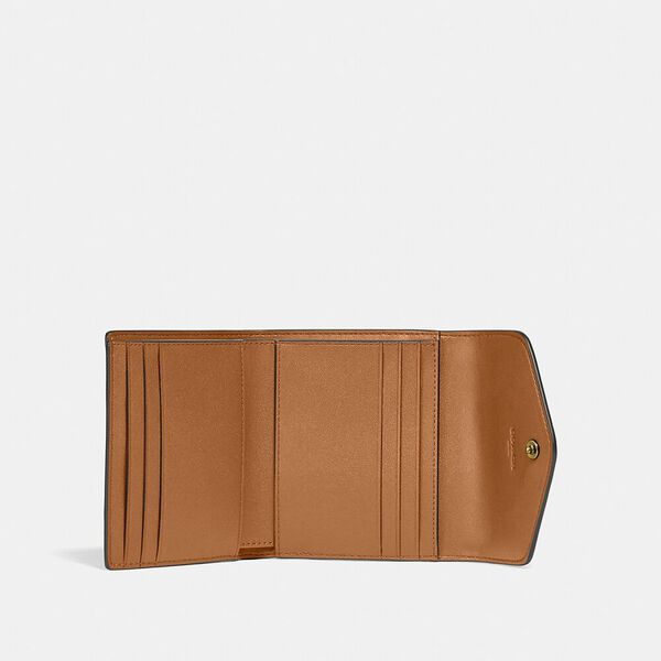 Wyn Small Wallet, B4/BUTTERCUP, hi-res