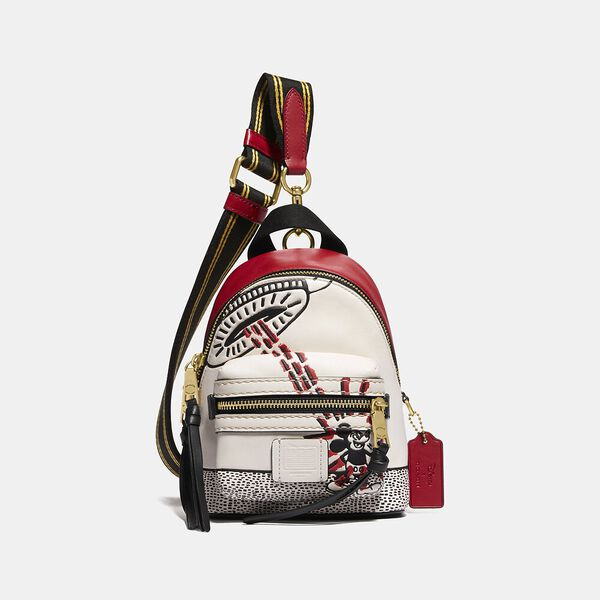 Disney Mickey Mouse X Keith Haring Academy Backpack 15, BLACK/RED, hi-res