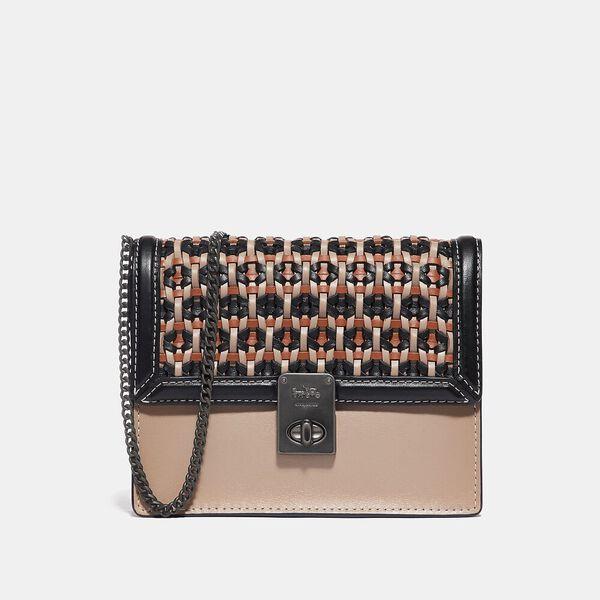 Hutton Belt Bag With Weaving