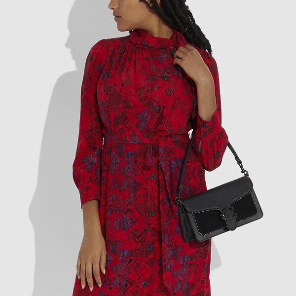 Tabby Shoulder Bag 26 With Beadchain, V5/BLACK, hi-res