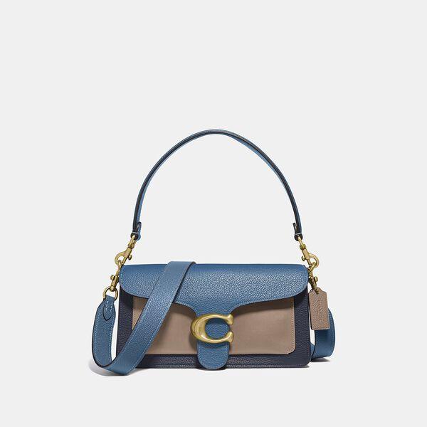 Tabby Shoulder Bag 26 In Colorblock, B4/LAKE MULTI, hi-res
